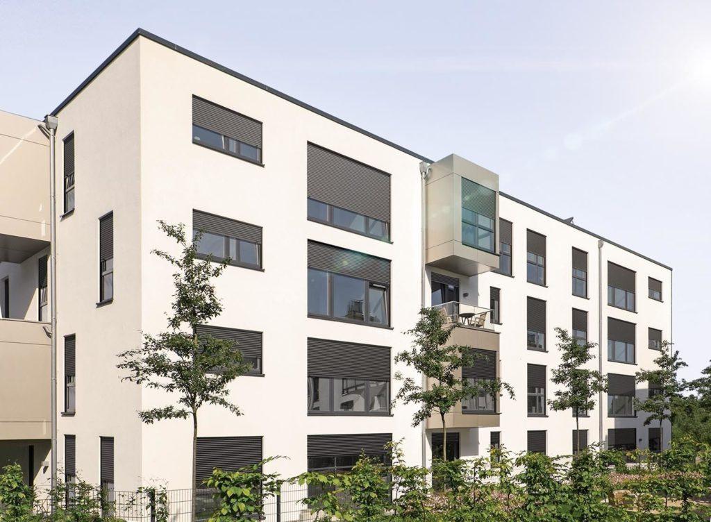 Neubau-Aufsetz-Rollladen